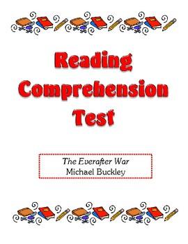 Comprehension Test - The Everafter War (Buckley)