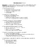 Comprehension Test - The Grimm Legacy (Shulman)