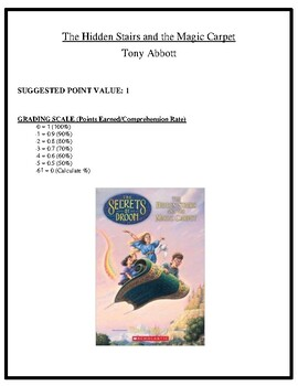 Comprehension Test - The Hidden Stairs and the Magic Carpet (Abbott)