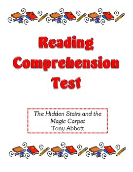 Comprehension Test - The Hidden Stairs and the Magic Carpe