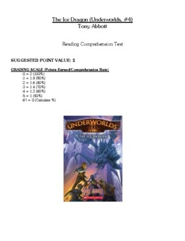 Comprehension Test - The Ice Dragon (Abbott)