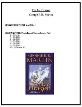 Comprehension Test - The Ice Dragon (Martin)