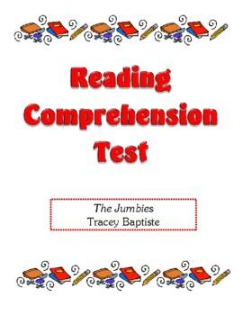Comprehension Test - The Jumbies (Baptiste)