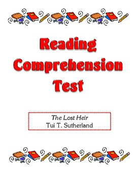 Comprehension Test - The Lost Heir (Sutherland)