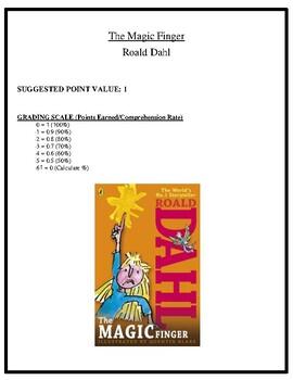 Comprehension Test - The Magic Finger (Dahl)