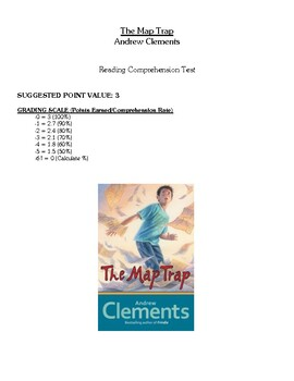 Comprehension Test - The Map Trap (Clements)
