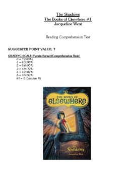 Comprehension Test - The Shadows, the Books of Elsewhere (West)