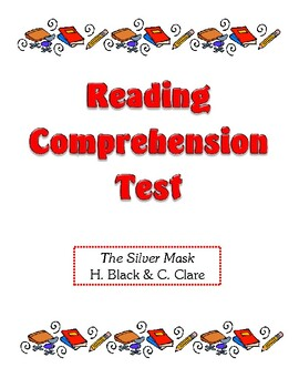 Comprehension Test - The Silver Mask (Black/Clare)