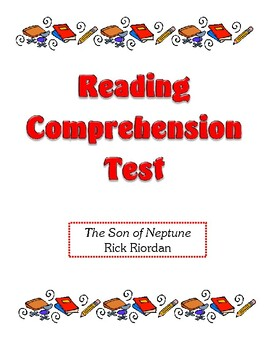 Comprehension Test - The Son of Neptune (Riordan)