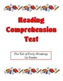 Comprehension Test - The Tail of Emily Windsnap (Kessler)