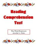 Comprehension Test - The Third Mushroom (Holm)