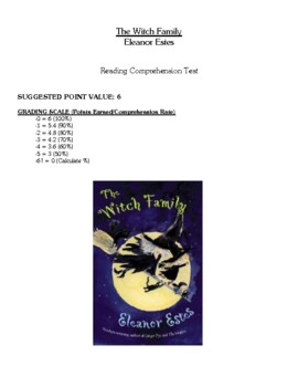 Comprehension Test - The Witch Family (Estes)