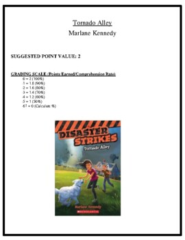 Comprehension Test - Tornado Alley (Kennedy)