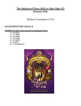 Comprehension Test - Unfairest of Them All (Hale)