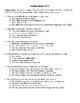 Comprehension Test - Virginia Bound (Butler)