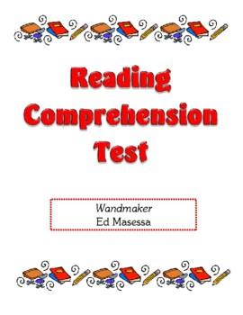 Comprehension Test - Wandmaker (Masessa)