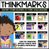 Comprehension ThinkMarks: Posters for ELA Reading Kindergarten & First