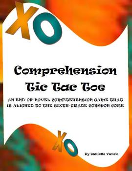 Comprehension Tic Tac Toe: A Reading Center Aligned to the