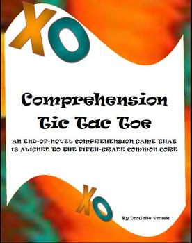 Comprehension Tic Tac Toe: A Reading Center Aligned to the 5th-Grade Common Core