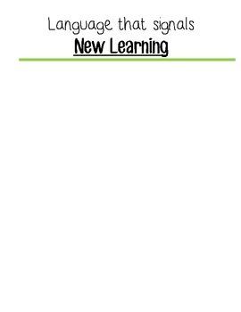Comprehension Tool Kit