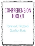 Comprehension Toolkit Homework Question Bank