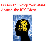 "Comprehension Toolkit Lesson 15 ""Wrap Your Mind Around BIG Ideas"""
