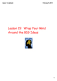 Comprehension Toolkit Lesson 15: Wrap Your Mind Around the