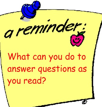 Comprehension Toolkit Lesson 7 Question the Text