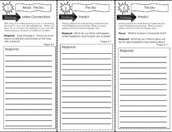 Comprehension Tri-Fold - Poppleton Everyday by Cynthia Rylant