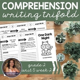 Comprehension Trifold: One Dark Night - Grade 2 Unit 5 Week 2