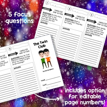Comprehension Trifold - The Twin Club