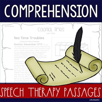 READING COMPREHENSION PASSAGES AND QUESTIONS | comprehension passages