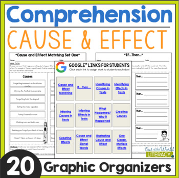 Reading Comprehension: Cause and Effect