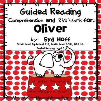 Comprehension Work on Oliver (A Book Companion)