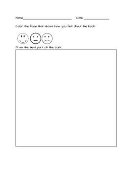 Comprehension Worksheet