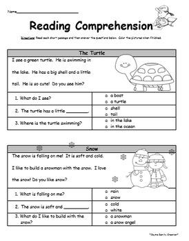 Comprehension Worksheets