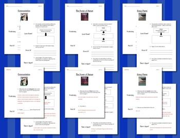 Comprehension Worksheets for Benchmark Literacy - Grade 2, Unit 9