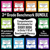 Comprehension Worksheets for Benchmark Literacy - Grade 3