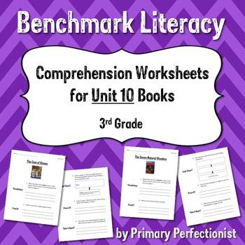 Comprehension Worksheets for Benchmark Literacy - Grade 3,
