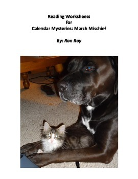 Comprehension Worksheets for Calendar Mysteries: March Mischief