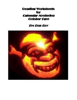Comprehension Worksheets for Calendar Mysteries: October Ogre
