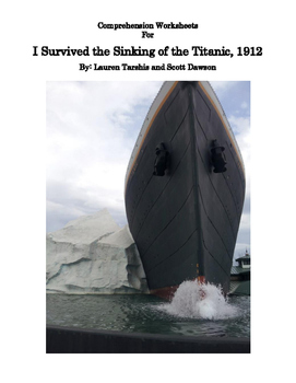 Comprehension Worksheets for I Survived the Sinking of the Titanic, 1912