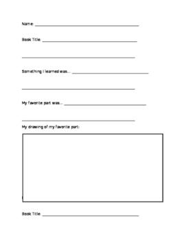 Comprehension Worksheets for Reading