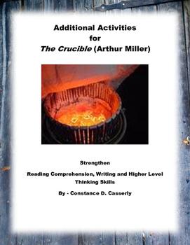 Literature - The Crucible - Additional Comprehension & Wri