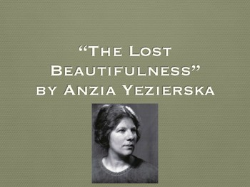 "Comprehension and Analysis Questions for ""The Lost Beautifulness"""