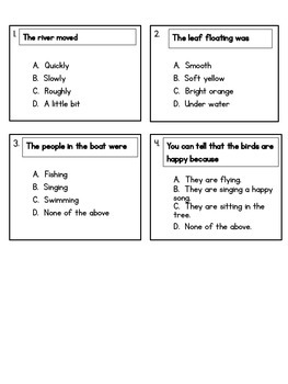 Comprehension and Close Reading FREEBIE!