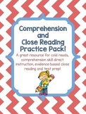 Comprehension and Close Reading Practice!