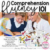 Comprehension and Fluency 101 Strategies, Games, Tools, Activities and Posters