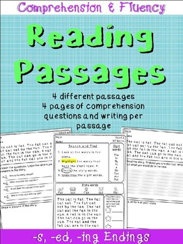 Reading Comprehension Passages and Questions: Endings