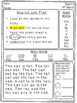 Comprehension and Fluency Reading Passages: Short Vowels